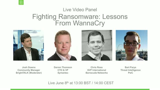 [Video Panel] Fighting Ransomware: Lessons from WannaCry