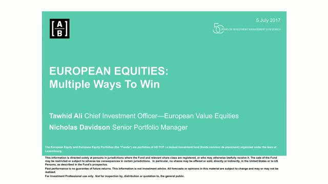Three steps to winning in European Equities