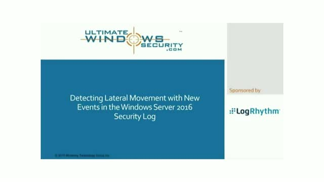 What Security Logs Tell You About Attackers in Your Network