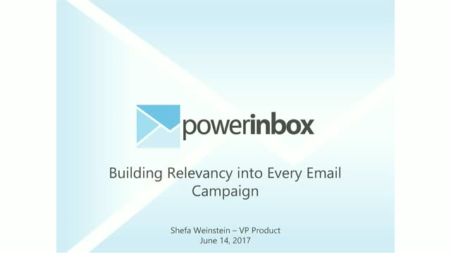 Building Relevancy into Every Email Campaign
