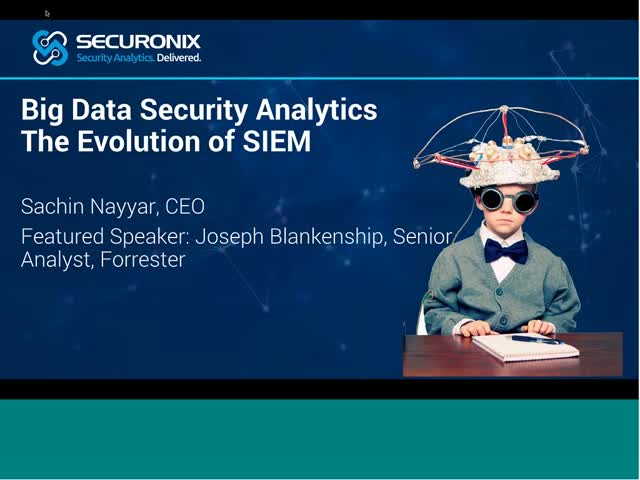 Big Data Security Analytics Evolution Of Next Gen Siem