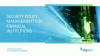 Security Policy Management for Financial Institutions