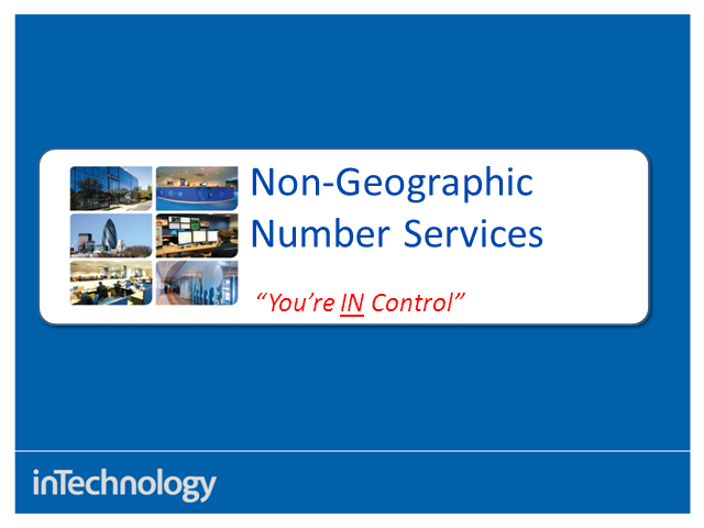 Non-Geographic Numbers: Potential benefits to your business