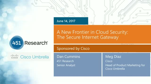 A New Frontier in Cloud Security: The Secure Internet Gateway