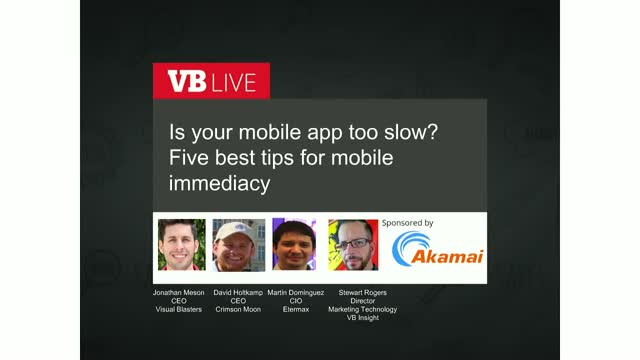 Is your mobile app too slow? Five best tips for mobile immediacy