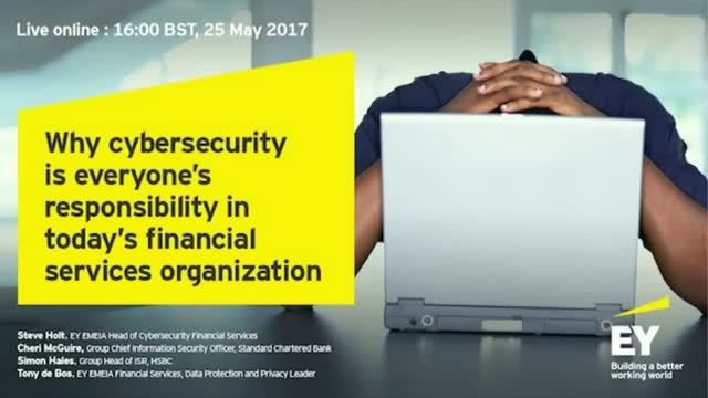 Why cybersecurity is everyone's responsibility in today's FS organization