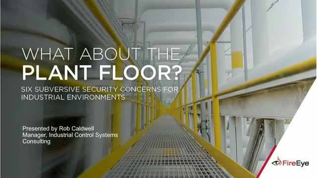 6 Hidden Security Risks for Industrial Environments