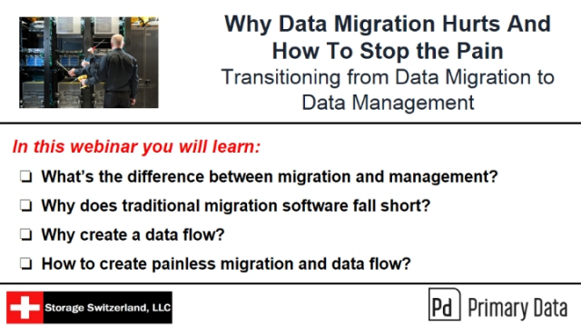 Why Data Migration Hurts And How To Stop the Pain