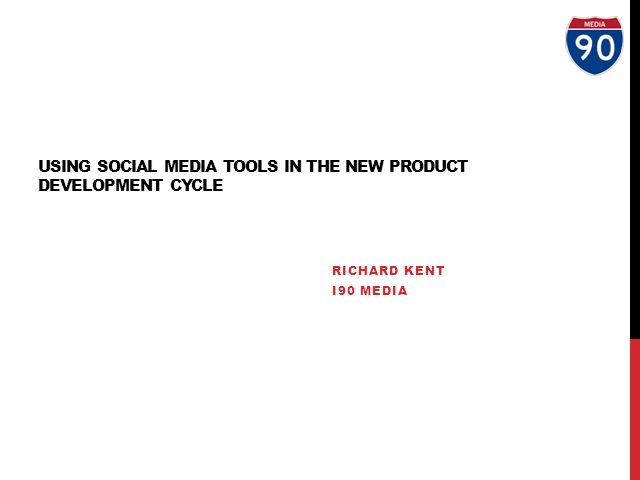 Social media's impact on the new product development cycle
