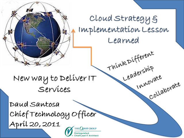 Cloud Strategy & Implementation Lesson Learned
