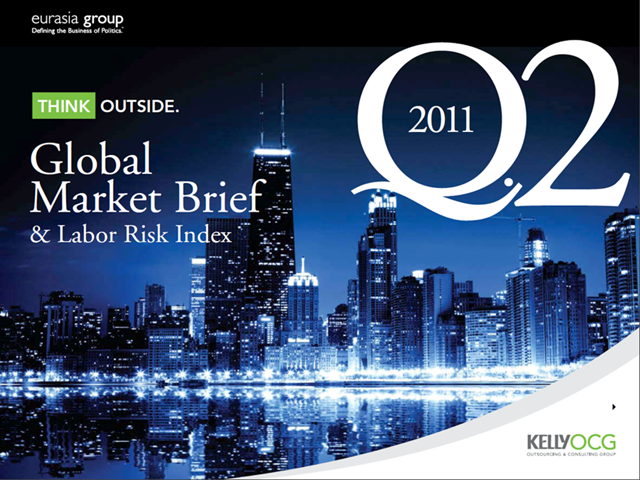Q2 2011 Global Market Brief & Labor Risk Index - Launch