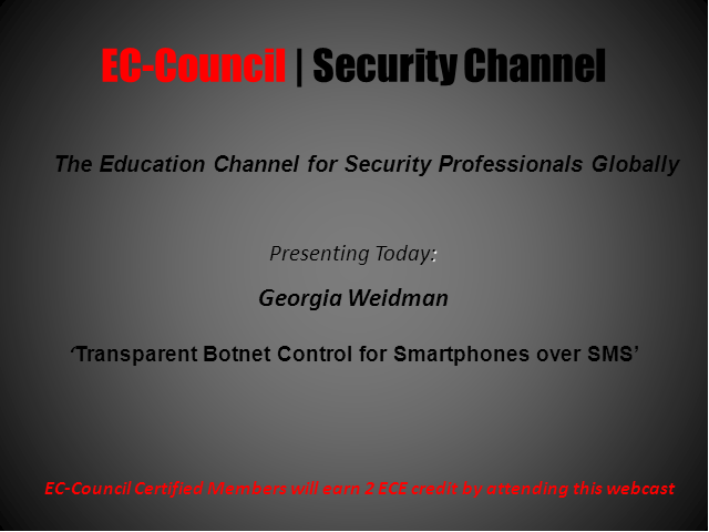 Transparent Botnet Command And Control For Smartphones Over SMS