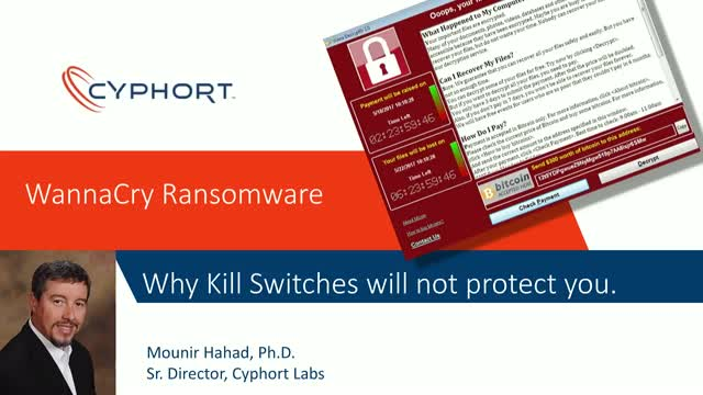 WannaCry Ransomware: Why Kill Switches Will Not Protect You