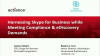 Compliance and Skype for Business Adoption