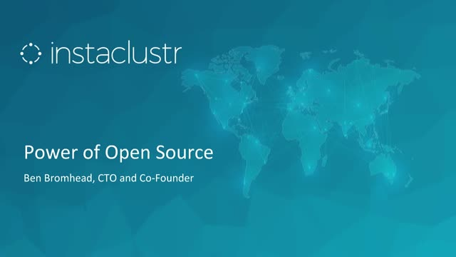 The Power of Open Source Apache Cassandra Managed by Instaclustr