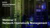 Digitalisierung voranbringen - Webinar 3: Network Operations Management