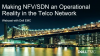 Making NFV/SDN an Operational Reality in the Telco Network