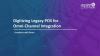 Digitizing legacy POS for Omni-channel Integration