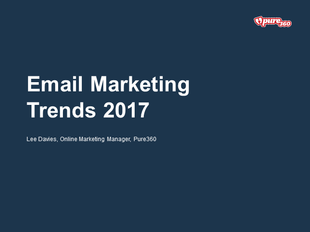 Email Design Trends 2017