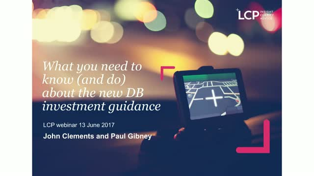 What you need to know about tPR's new DB investment guidance