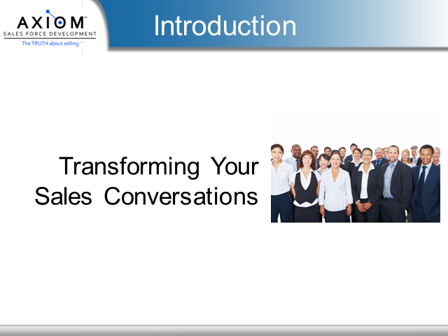 Transforming Your Sales Conversations