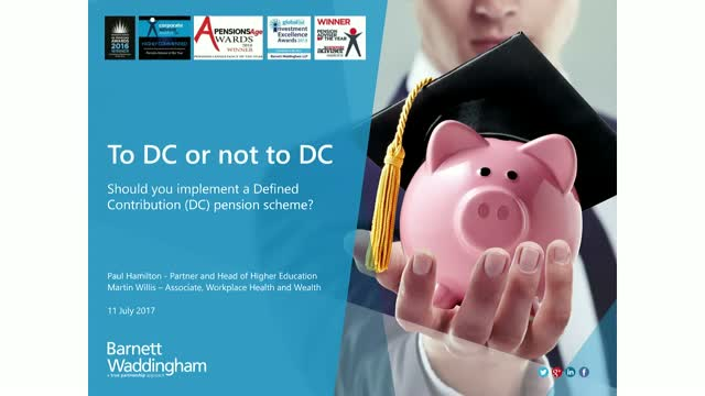 To DC or not DC? Should you implement a Defined Contribution (DC) pension scheme