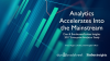 The 2017 State of Enterprise Analytics – from Insight to Foresight