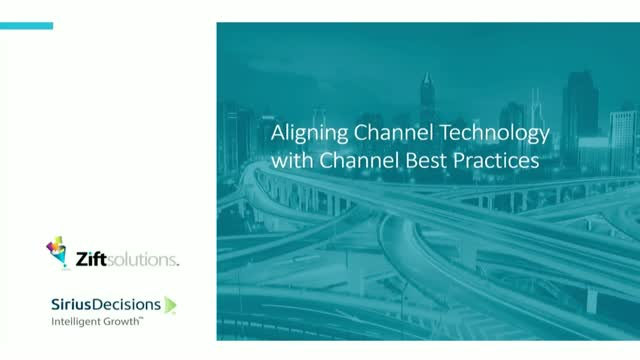 Aligning Technology with Channel Sales and Marketing Best Practices