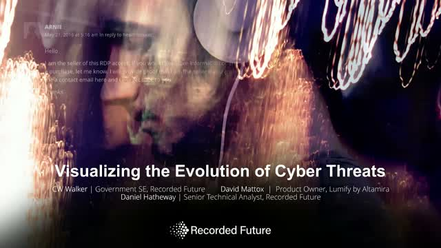 Visualizing the Evolution of Cyber Threats