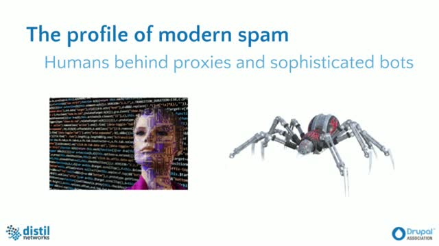 How Drupal Fights Spam Using Distil Networks