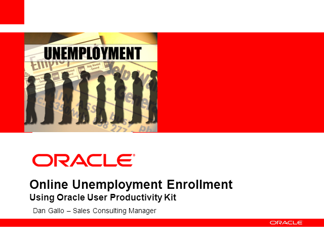 Online Unemployment Enrollment