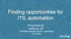Finding opportunities for ITIL automation