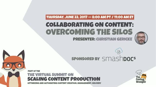 Collaborating on Content: Overcoming the Silos