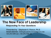 Leading in the 21st Century - Your Questions!