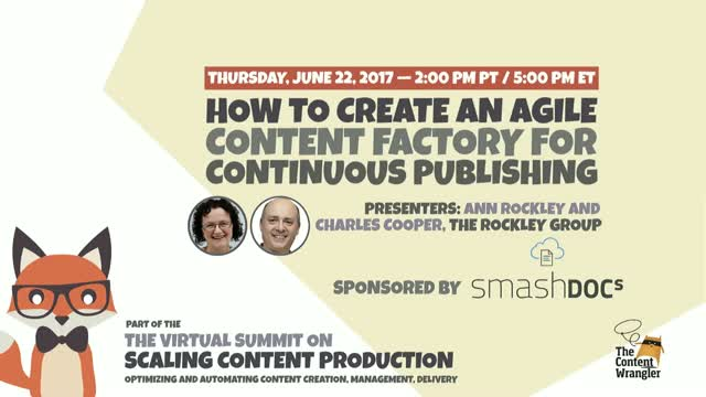 How to Create An Agile Content Factory for Continuous Publishing