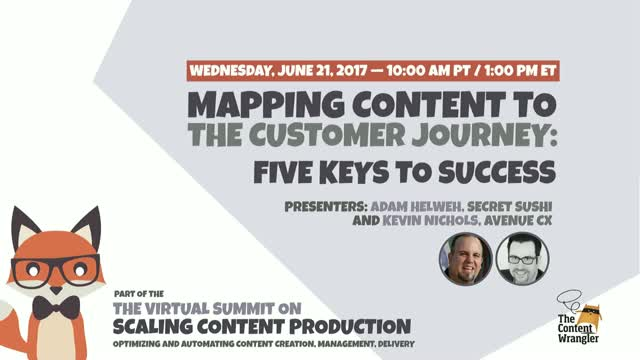 Mapping Content to the Customer Journey: 5 Keys to Success