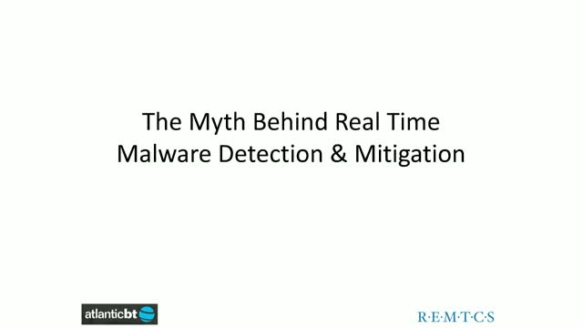 The Myth behind Real Time Malware Detection