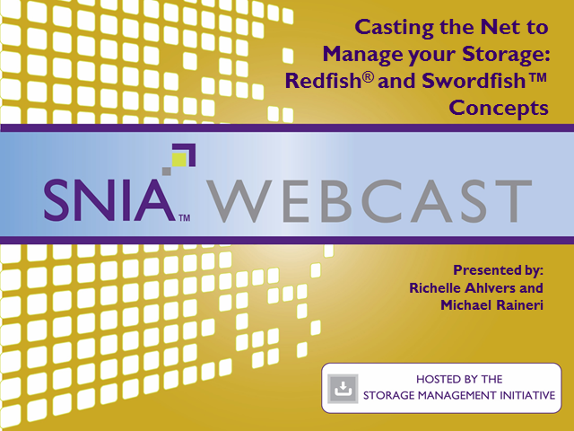 Casting the Net to Manage your Storage: Redfish and Swordfish Concepts