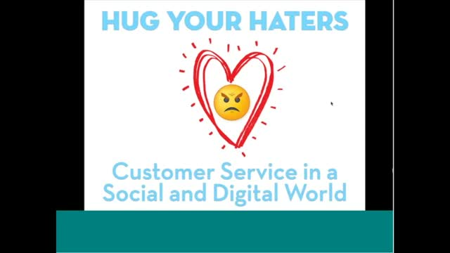 Hug Your Haters: Customer Service In A Digital and Social World