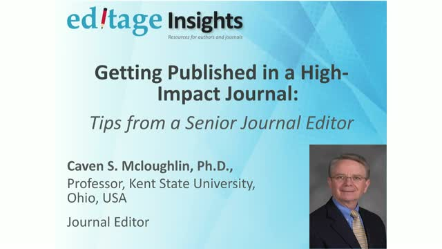 Getting published in a high-impact journal: Tips from a senior journal editor