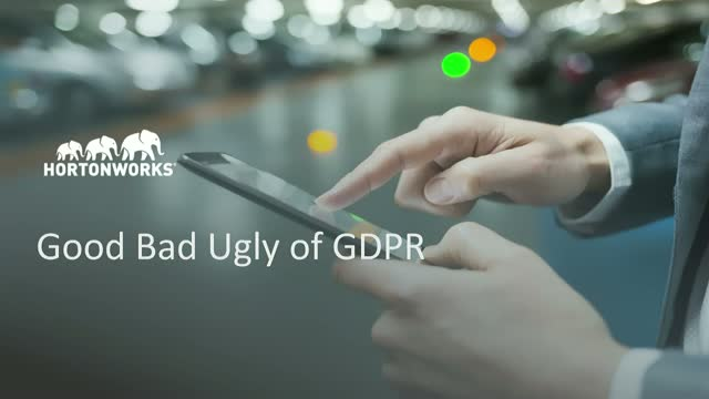 GDPR Compliance: The Good, Bad and Ugly