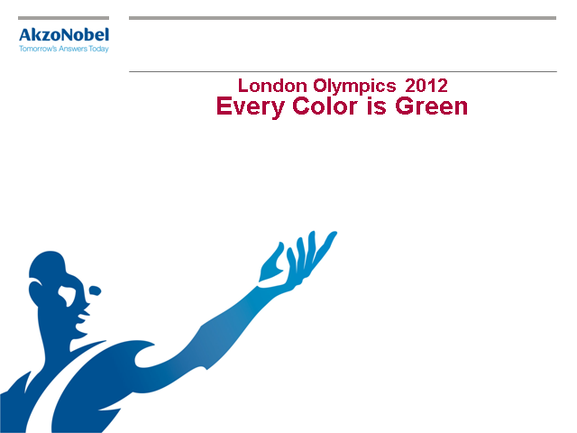 London Olympics 2012 - Every Color is Green