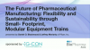 The Future of Pharmaceutical Manufacturing: Flexibility and Sustainability throu
