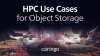 HPC Use Cases for Object Storage