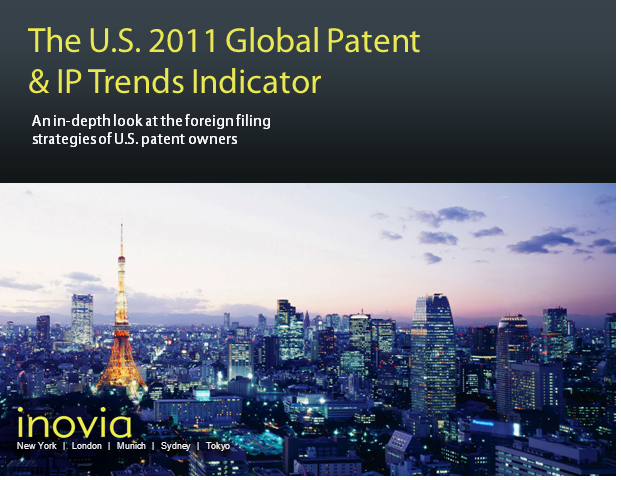 The U.S. 2011 Global Patent & IP Trends Indicator