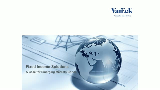 Fixed Income Solutions: A Case for Emerging Markets Bonds