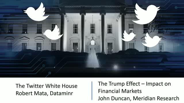 [LIVE] The Twitter White House & The Trump Effect - Impact on Financial Markets