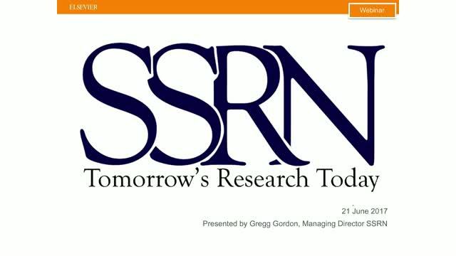 Accelerating Interdisciplinary Research - Introducing BioRN @ SSRN