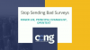 Stop Sending Bad Surveys