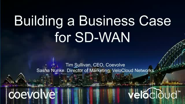 Building the Business Case for SD-WAN
